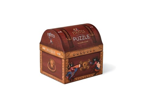 Crocodile Creek Crocodile Creek Double Fun Puzzle/Pirate Treasure