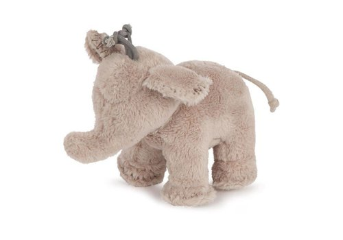 Tartine Et Chocolat Tartine & Chocolat Soft Toy Elephant 12cm Taupe