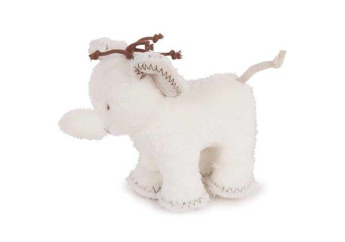 Tartine Et Chocolat Tartine & Chocolat Soft Toy Elephant 12cm Off-white