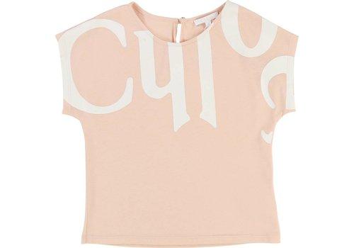 Chloe Chloe T-Shirt Abrikoos