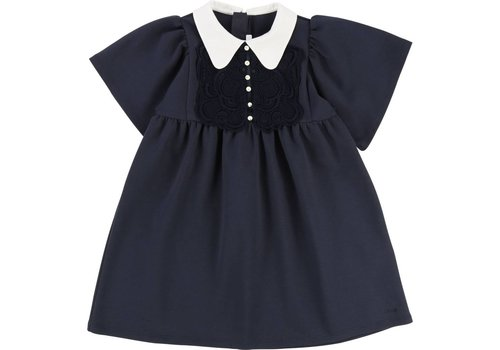 Chloe Chloe Dress Marine Collar