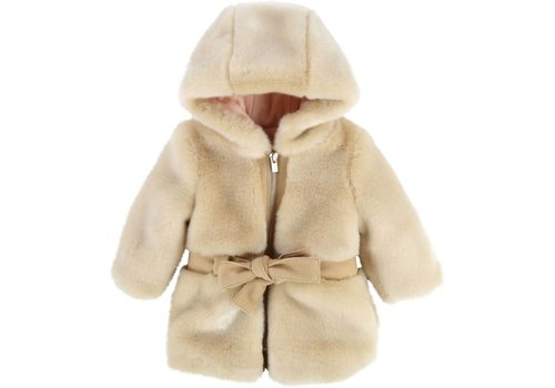 Chloe Chloe Hooded Coat Petit Beurre