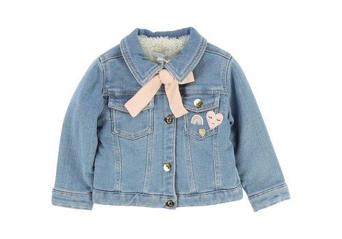 Chloe Chloe Denim Jacket Bow Pink