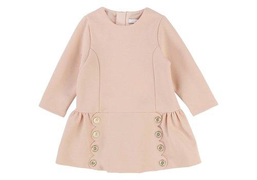 Chloe Chloe Dress Buttons Apricot