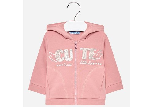 Mayoral Mayoral Sweater Cute Sweet Pink