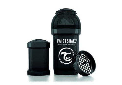 TwistShake TwistShake Zuigfles Anti-Koliek 180 ml Zwart
