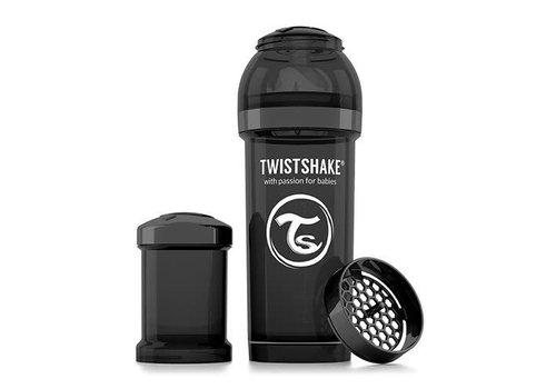 TwistShake TwistShake Zuigfles Anti-Koliek 260 ml Zwart