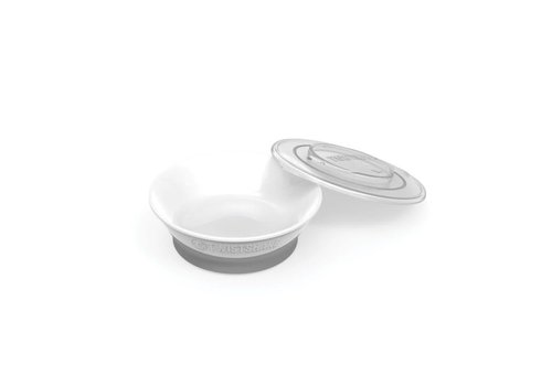 TwistShake TwistShake Bowl White