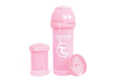 TwistShake TwistShake Baby Bottle Anti-Colic 260 ml Pastel Pink