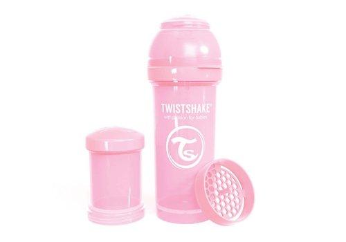 TwistShake TwistShake Zuigfles Anti-Koliek 260 ml Pastel Pink