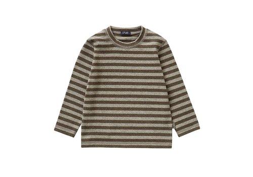 Il Gufo Il Gufo T-Shirt Teck - Grijs Strepen
