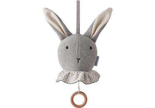 Liewood Liewood Music Mobile Angela Rabbit Grey