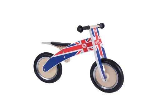 KiddiMoto Kiddimoto Balance Bike Kurve Union Jack