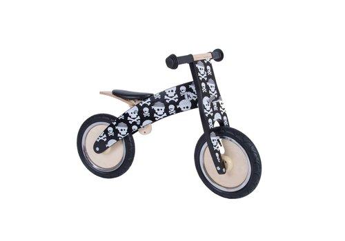KiddiMoto KiddiMoto Balance Bike Kurve Skullz
