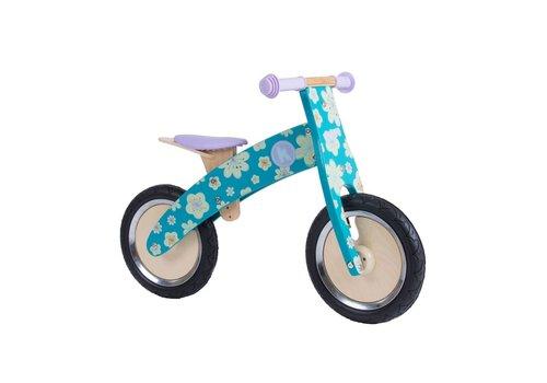 KiddiMoto KiddiMoto Balance Bike Kurve Fleur