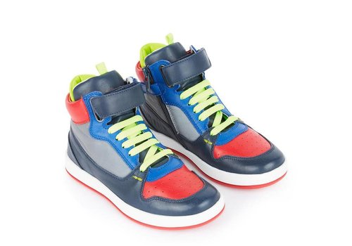 Paul Smith Paul Smith Schoenen Gideon Navy