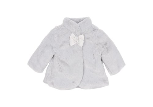 Mayoral Mayoral Coat Fur Lightgrey