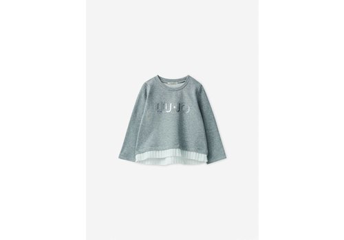 Liu Jo Liu Jo T-Shirt Grijs 'Liu Jo'