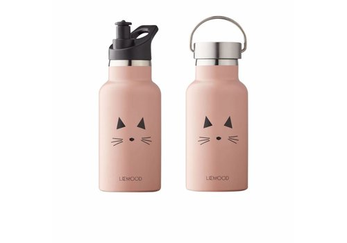 Liewood Liewood Anker Water Bottle Cat Rose