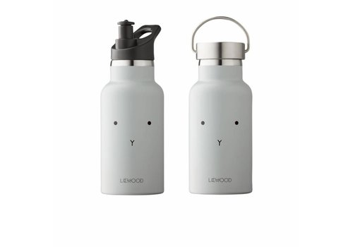 Liewood Liewood Ankel Water Bottle Rabbit Dumbo Grey