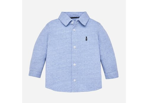 Mayoral Mayoral Shirt L/S Light Blue
