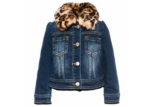 Monnalisa Monnalisa Denim Jacket Mickey Denim
