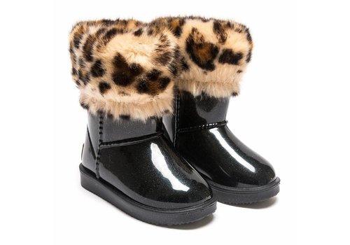 Monnalisa Monnalisa Boots Black - Glitter Nero