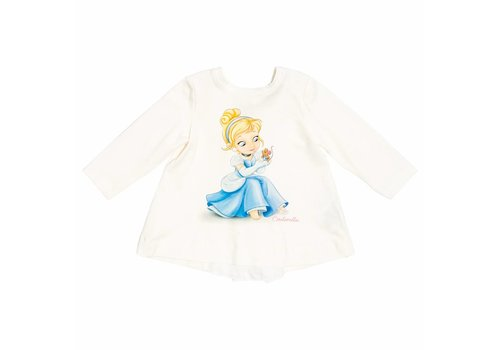 Monnalisa Monnalisa T-Shirt Cinderella Offwhite