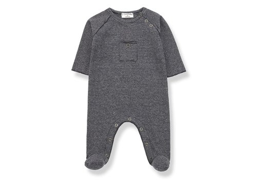 1+ In The Family 1+ In The Family Jumpsuit ASIER Blue - Grey