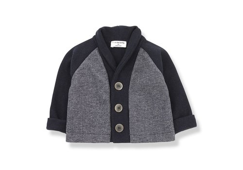 1+ In The Family 1+ In The Family Cardigan ARMAND Blue