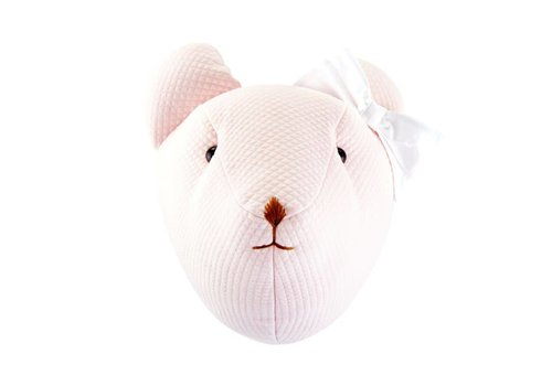 Theophile & Patachou Théophile & Patachou Teddy Trophy Pink Padded Bow White