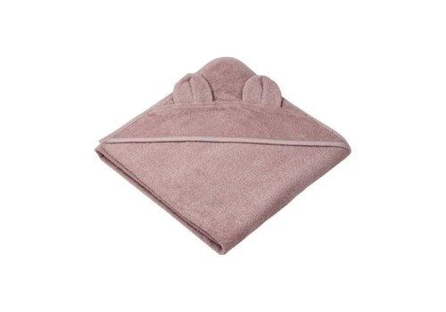 Liewood Liewood Hooded Towel Mr Bear Pink