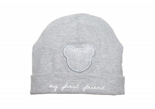 First First Hat My First Friend Grey