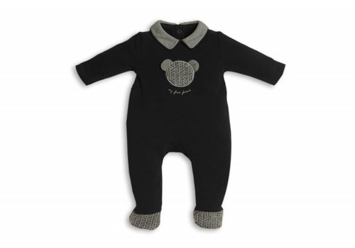 My First Collection First Combi Teddy On Front Navy