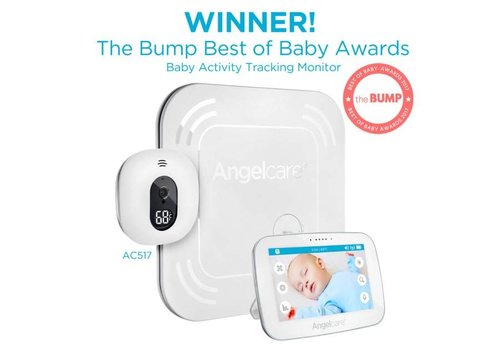 "Angelcare Angelcare Babyfoon Video, Movement & Sound Monitor 5"" Touchscreen - Wireless SP AC517"