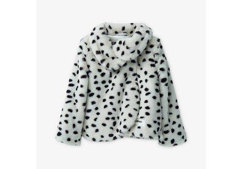 Liu Jo Liu Jo Coat White Spots Black