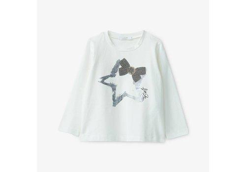 Liu Jo Liu Jo T-Shirt Star Snow White - Metal