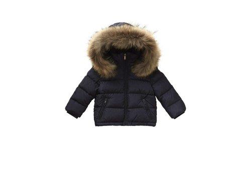 Il Gufo Il Gufo Coat Winter Dark Blue