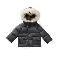 Il Gufo Coat Asphalt Grey