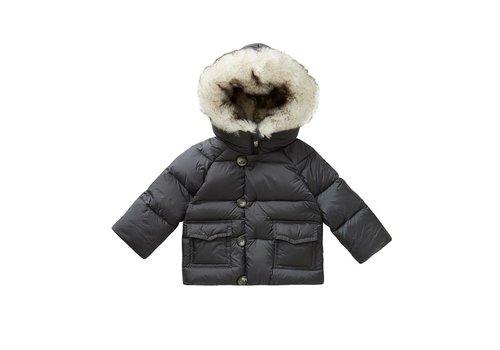 Il Gufo Il Gufo Coat Asphalt Grey