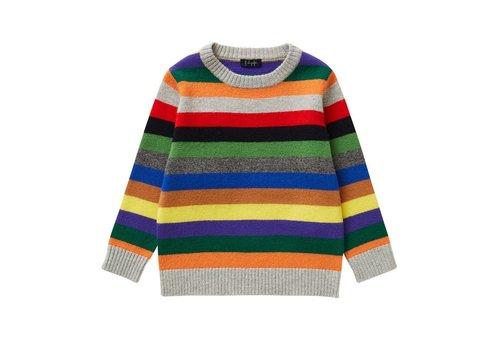 Il Gufo Il Gufo Sweater Cloud Grey - Carrot