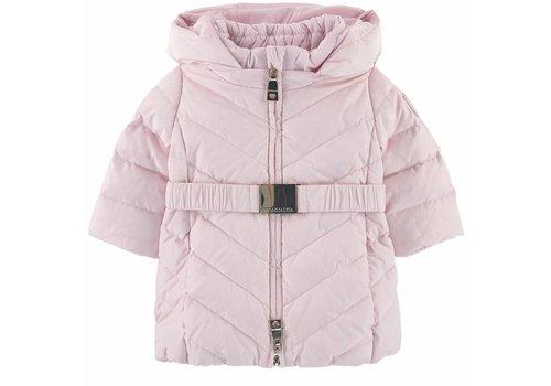 Monnalisa Monnalisa Coat Pink Pompon