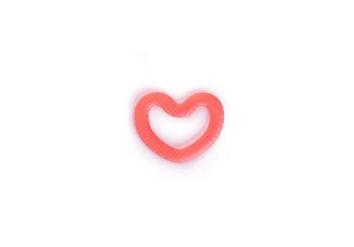 Suavinex Suavinex Teether Silicone Heart Red
