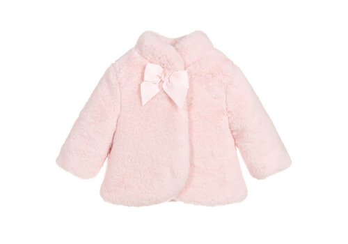 Mayoral Mayoral Coat Fur Pink