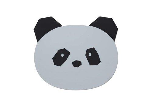Liewood Liewood Placemat Panda Dumbo Grey