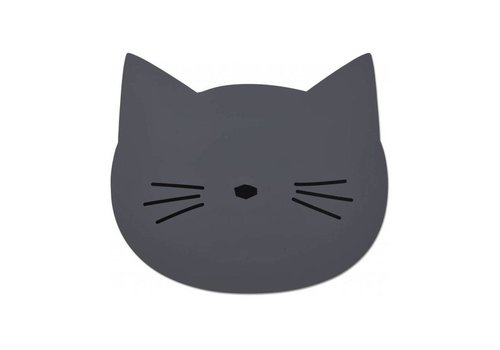 Liewood Liewood Placemat Cat Stone Grey