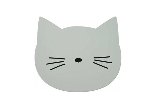 Liewood Liewood Placemat Cat Dusty Mint