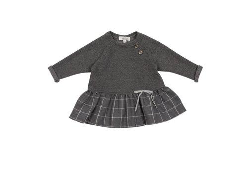 Aletta Aletta Dress Grey Checkered