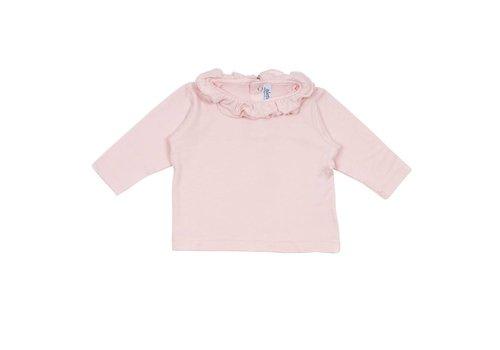 Aletta Aletta T-Shirt Lange Mouwen Roze - Glitter Rand
