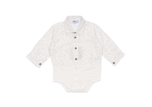 Aletta Aletta Body Shirt White Galaxy